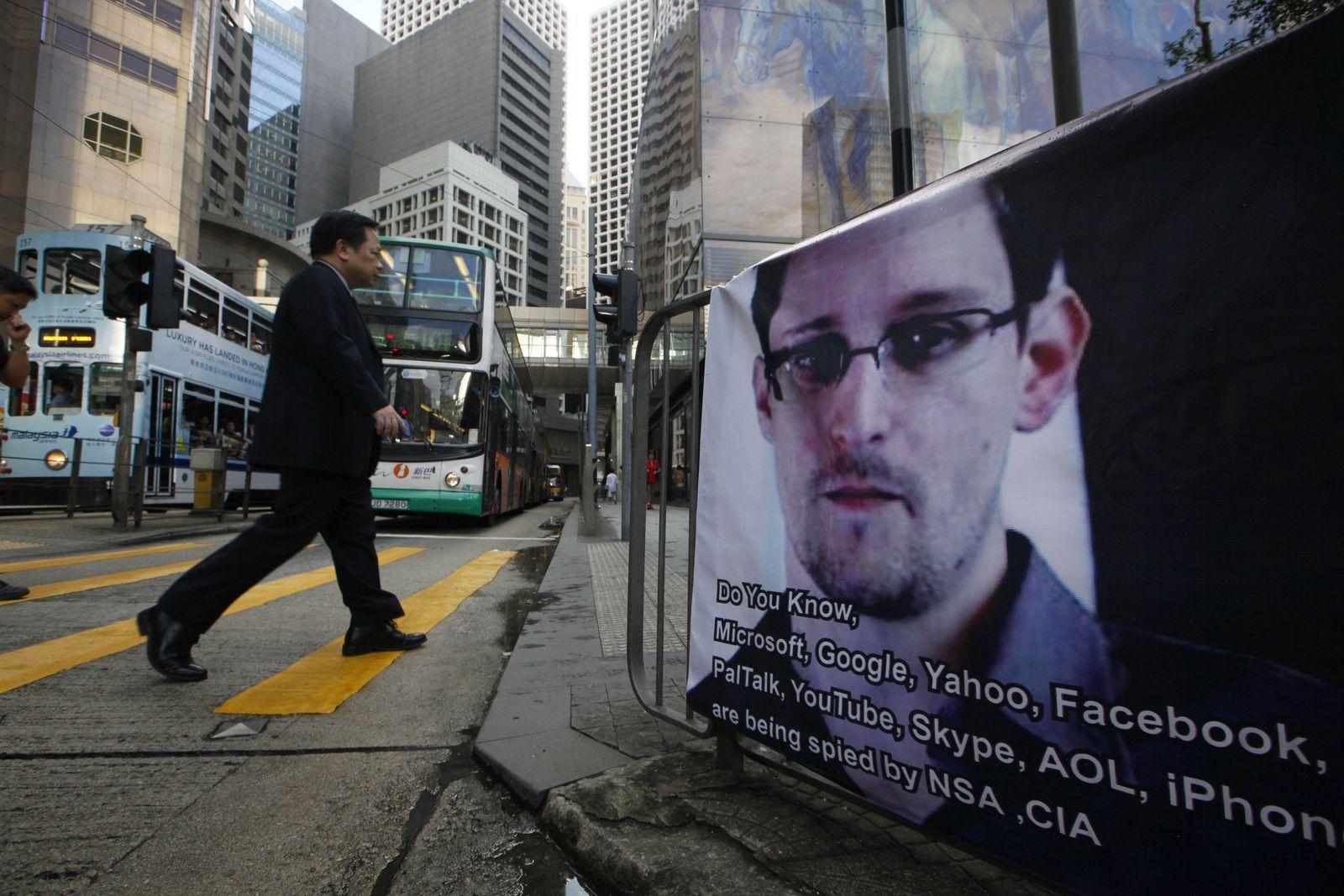 Edward Snowden Hongkong