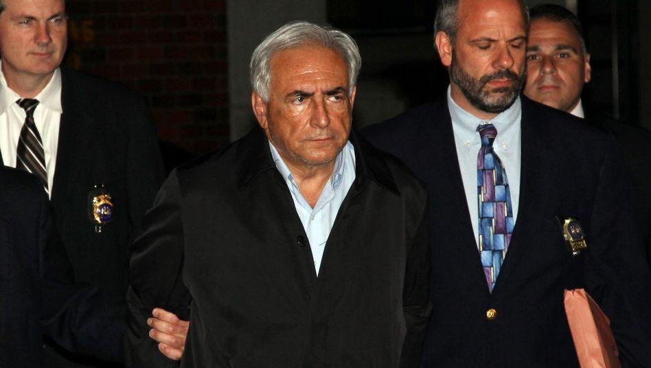 Affäre Strauss-Kahn: Absturz am Times Square