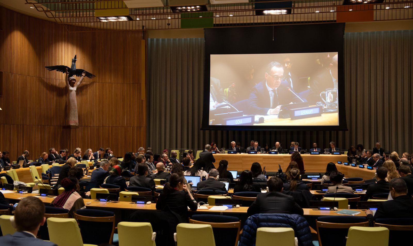UN-Sicherheitsrat/ Maas