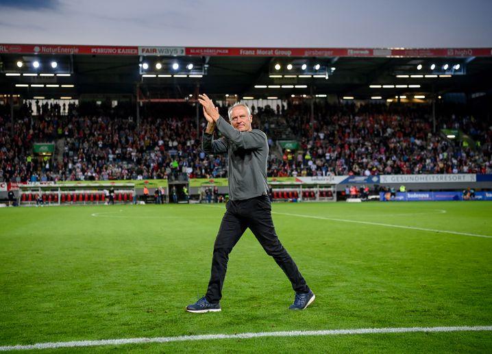Verabschiedete sich von seinem Stadion: Christian Streich