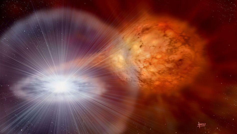Physik-Nobelpreis 2011: Kosmische Kerzen bestätigenEinstein
