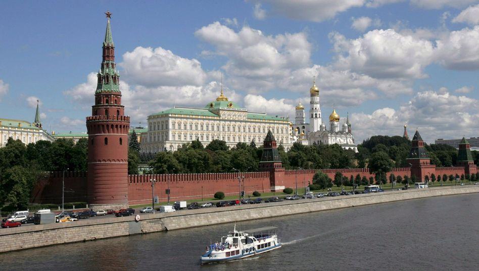 Der Kreml in Moskau: Wie nah kam Oleg S. dem russischen Präsidenten?