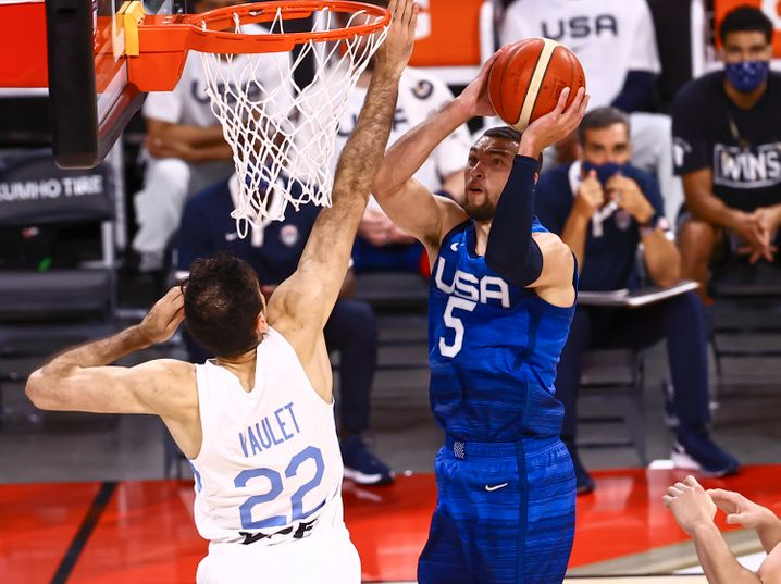 Zach LaVine (hier am 13. Juli gegen Argentinien)