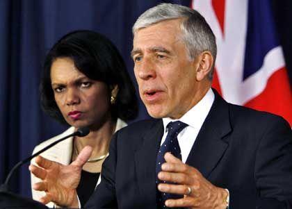 """Condoleezza Rice und Jack Straw: Politik statt """"Bedgate"""""""