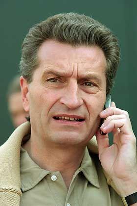 """CDU-Politiker Oettinger: Trauerrede war """"vertretbar"""""""