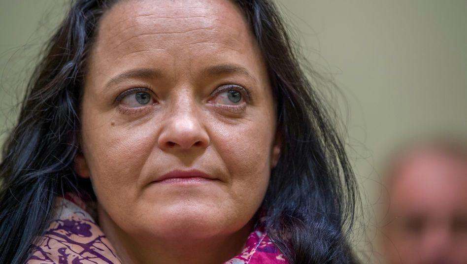 Juli 2018: Beate Zschäpe am Tag der Urteilsverkündung