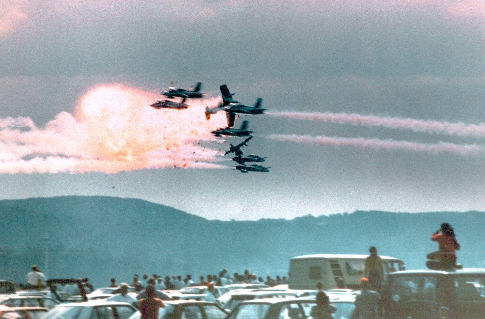 Flugzeugkatastrophe Ramstein 1988