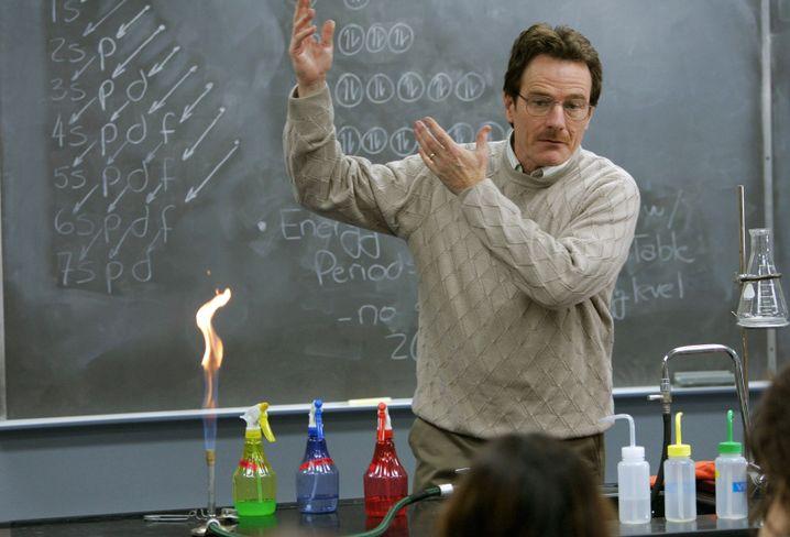 """""""Breaking Bad"""": Walter White macht sich als """"Heisenberg"""" einen Namen in der Drogenszene"""