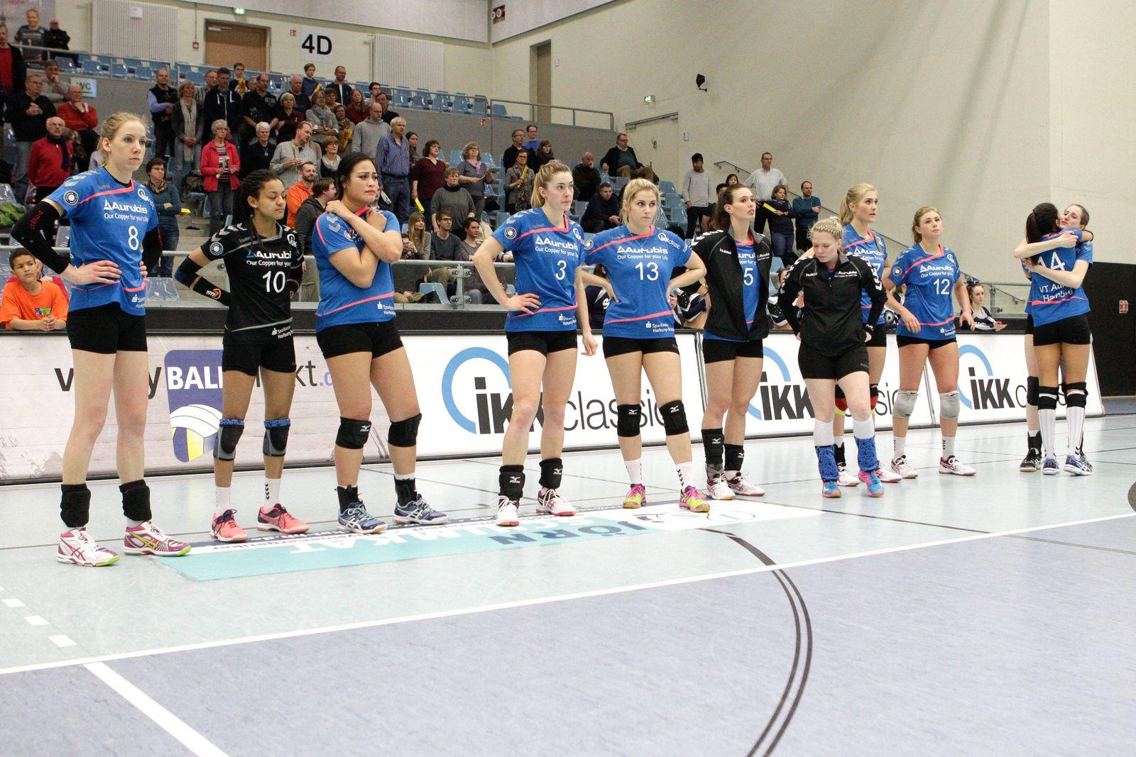 EINMALIGE VERWENDUNG Volleyball/ VT Aurubis Hamburg
