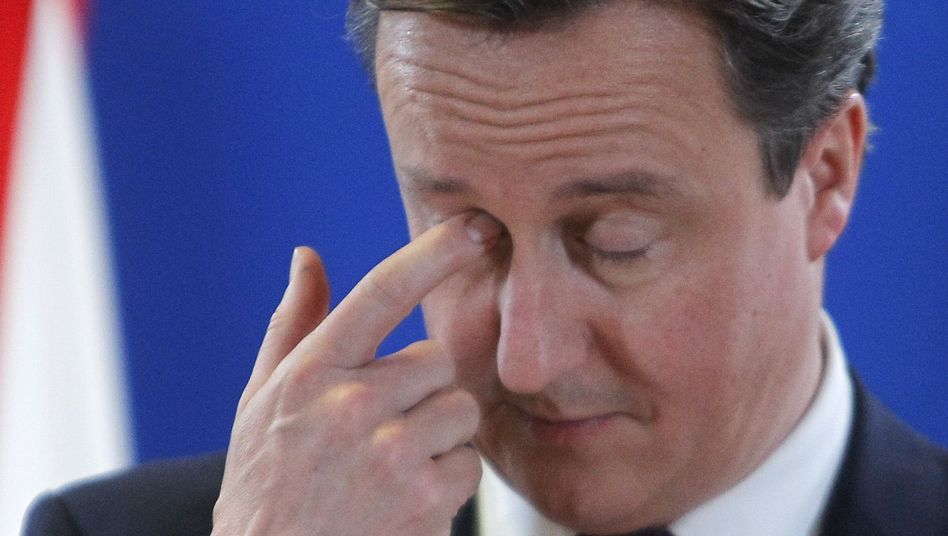 British Prime Minister David Cameron is happy not to be in the euro.