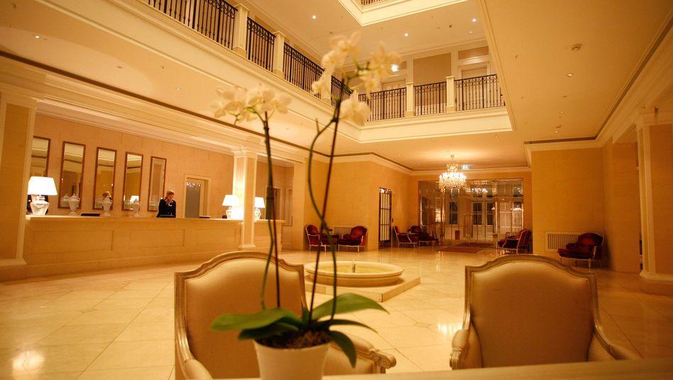Hotellobby in Heiligendamm: Garantie auf günstigste Preise wettbewerbswidrig