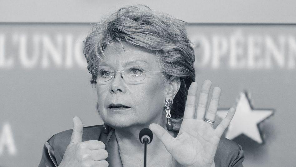"Ehemalige EU-Kommissarin Viviane Reding: ""Wo ist die Balance?"""