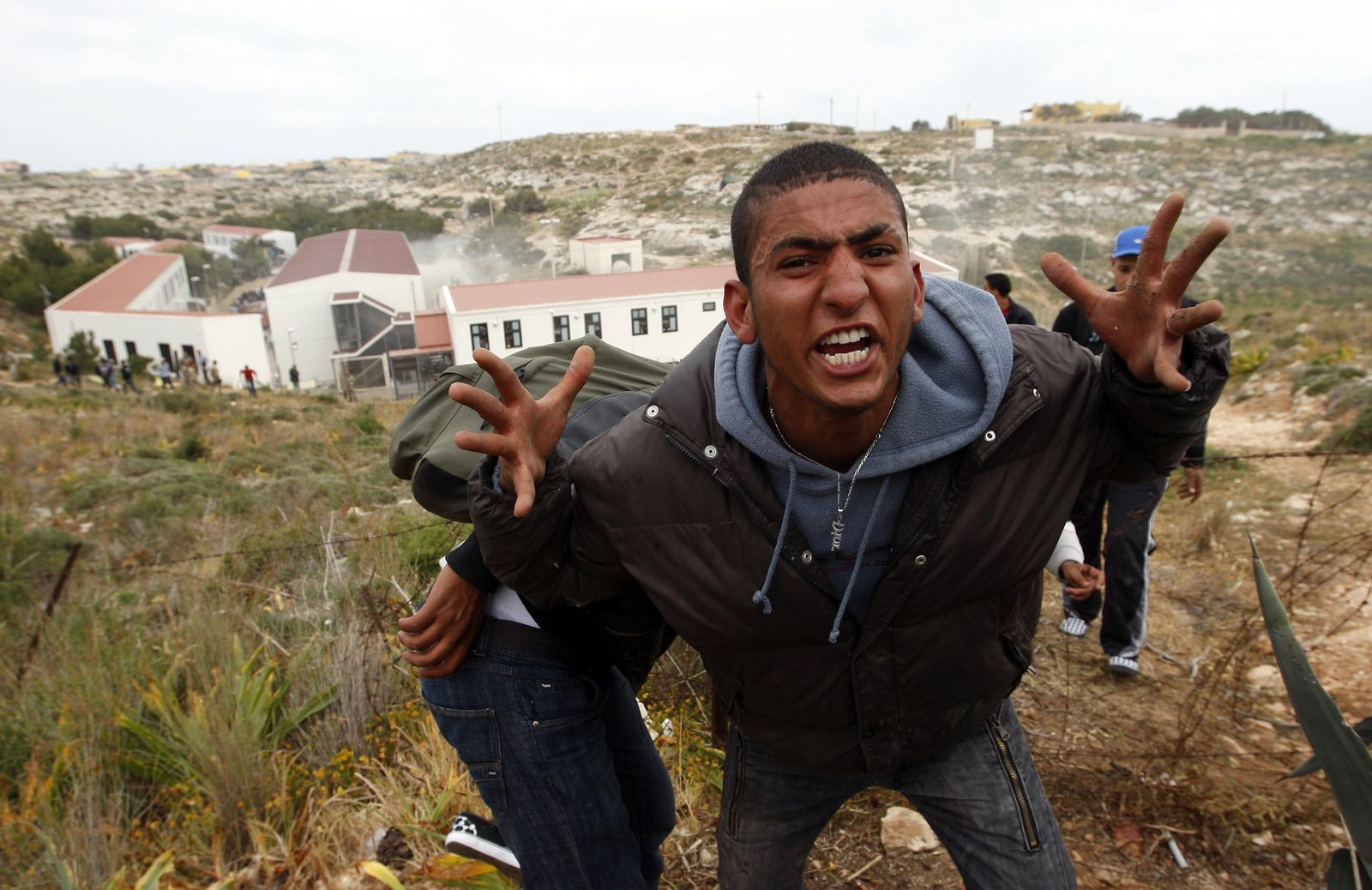 Tunisian Immigrant Lampedusa