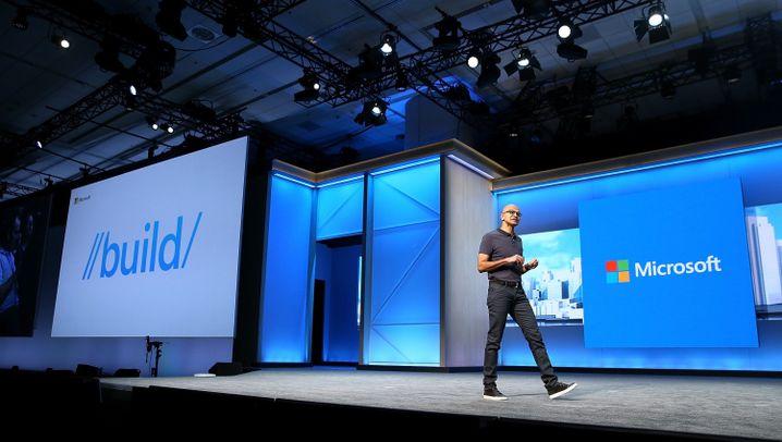 Microsoft-Entwicklerkonferenz: Windows-Update und Hololens