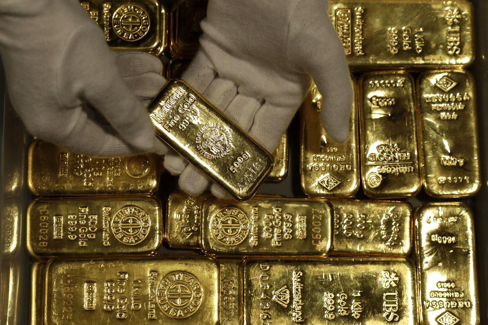 Gold / Goldbarren