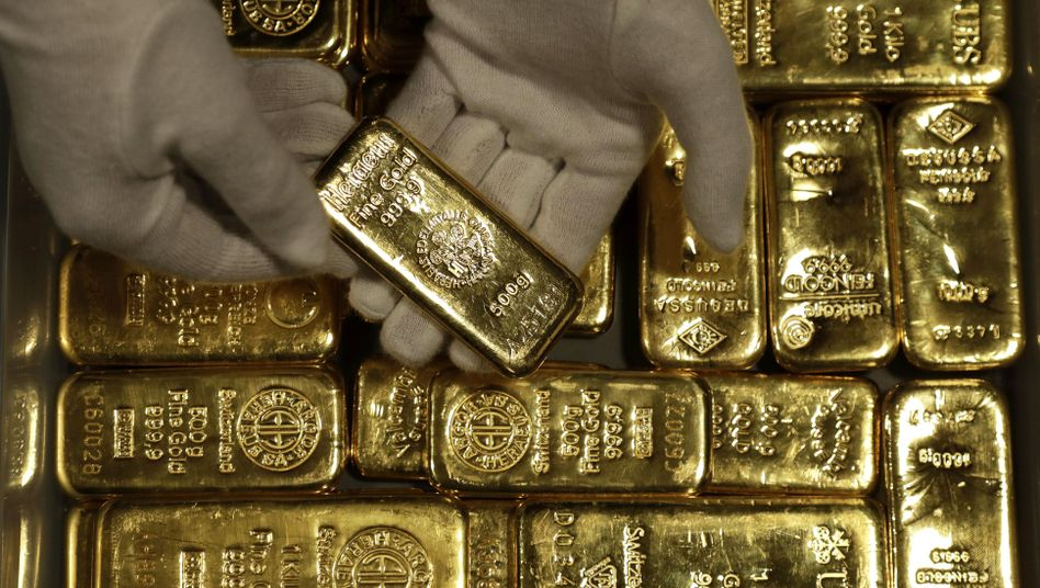 Goldbarren (Archiv)