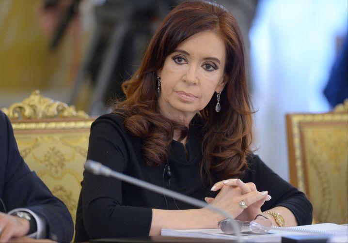 Argentiniens Präsidentin: Sieht sich als Opfer eines Komplotts