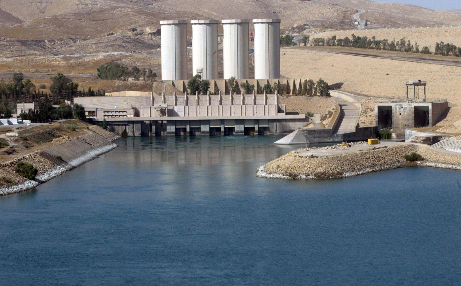 Irak/ Mosul Staudamm