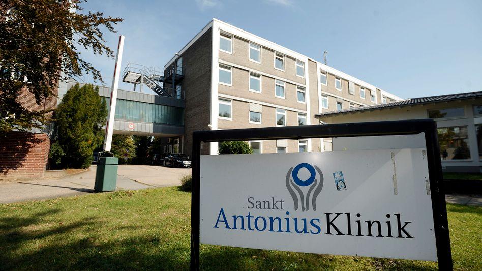 Die Antonius-Klinik in Wegberg: Schauplatz eines der größten Klinikskandale in Deutschland