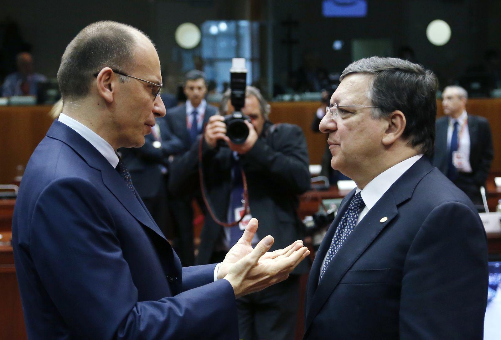 Letta / Barroso