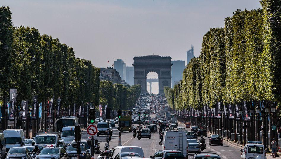 Stadtverkehr in Paris