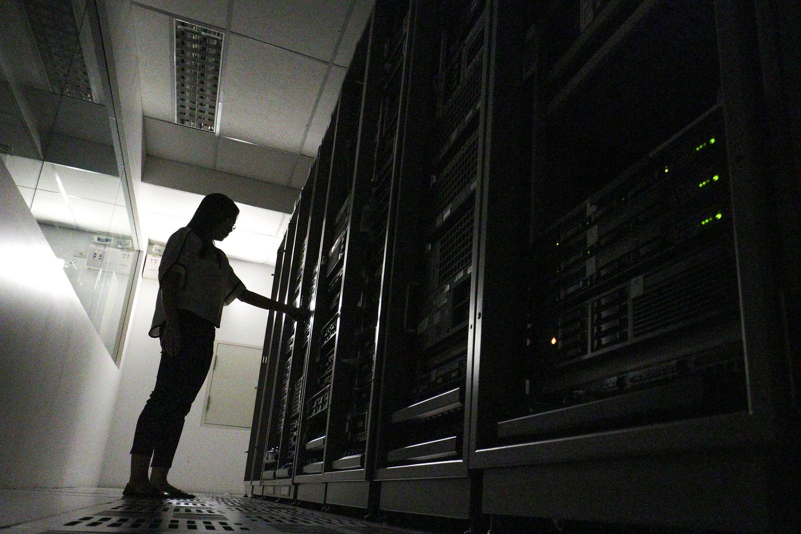 Symbolbild Server/ Serverraum