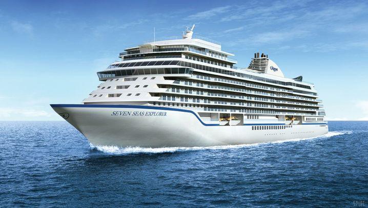Luxus-Herbergen auf dem Wasser: Die neuen Giganten der Meere