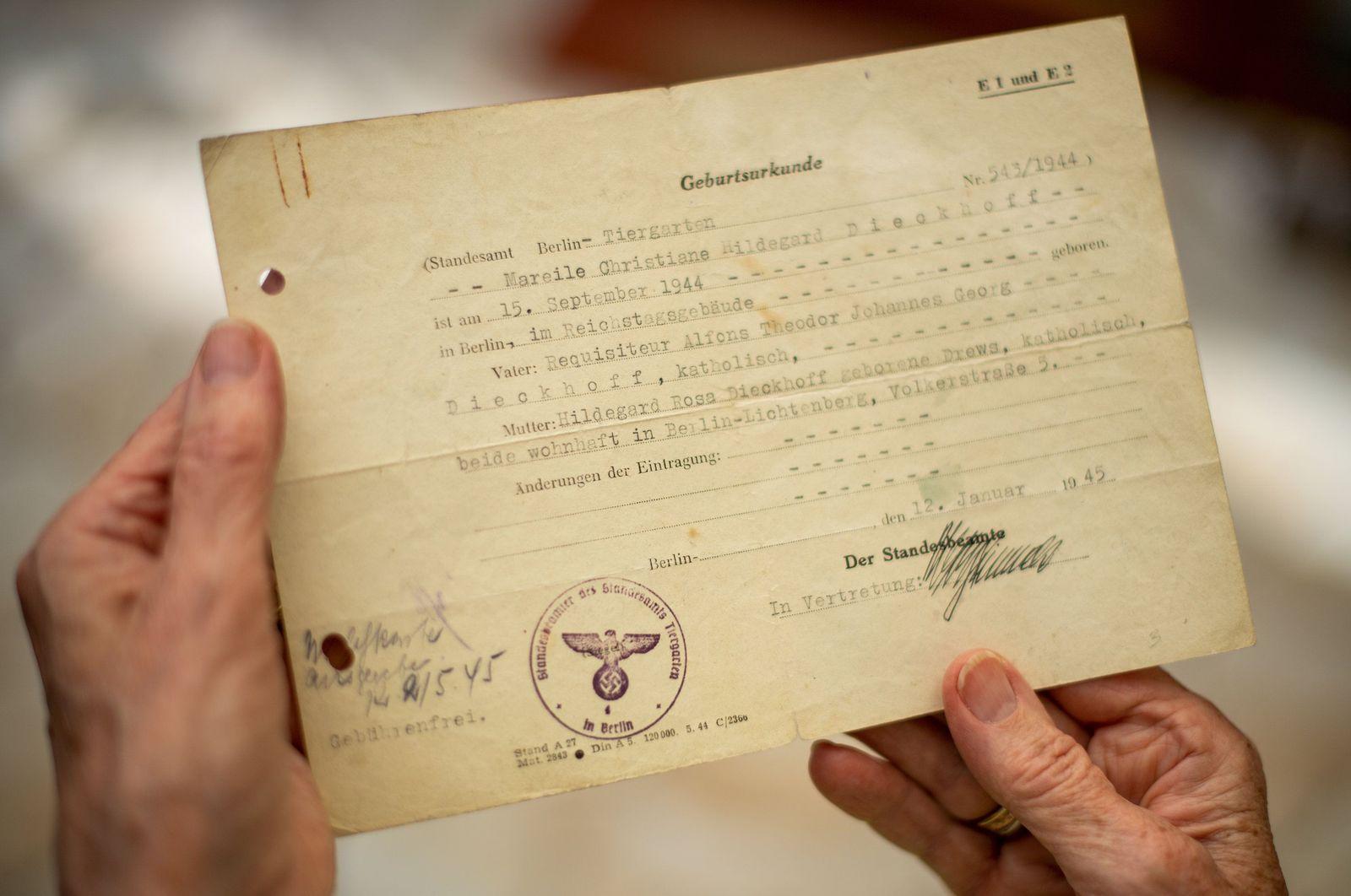 Reichstagsbaby Mareile Van der Wyst