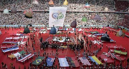 Opening ceremonies at the 2006 World Cup in Germany.