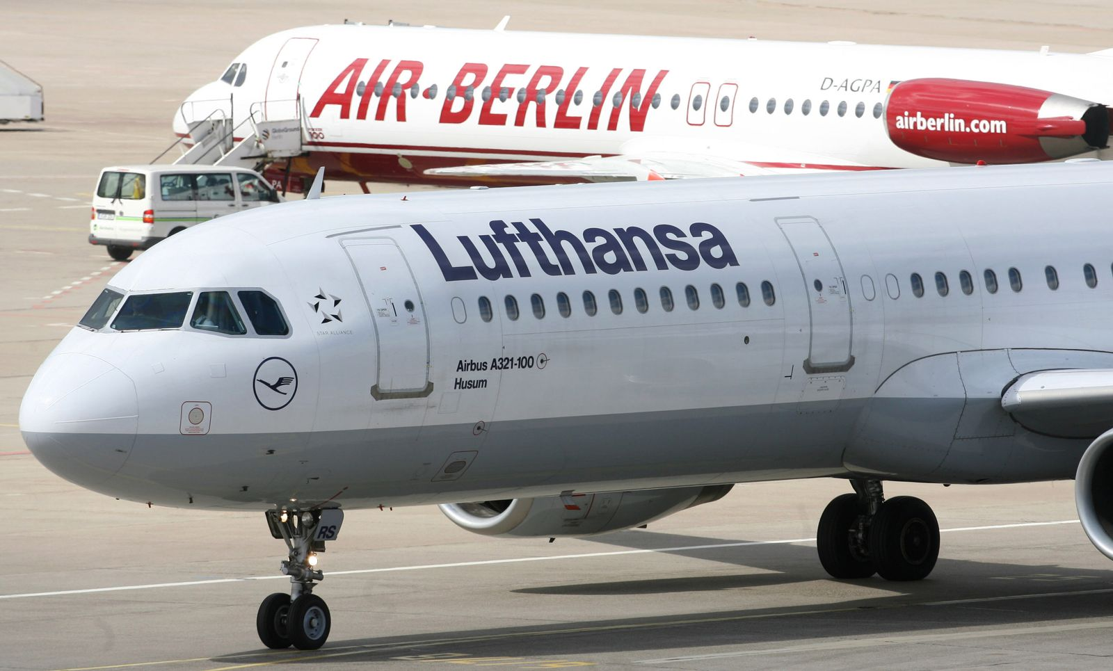 Air Berlin / Lufthansa