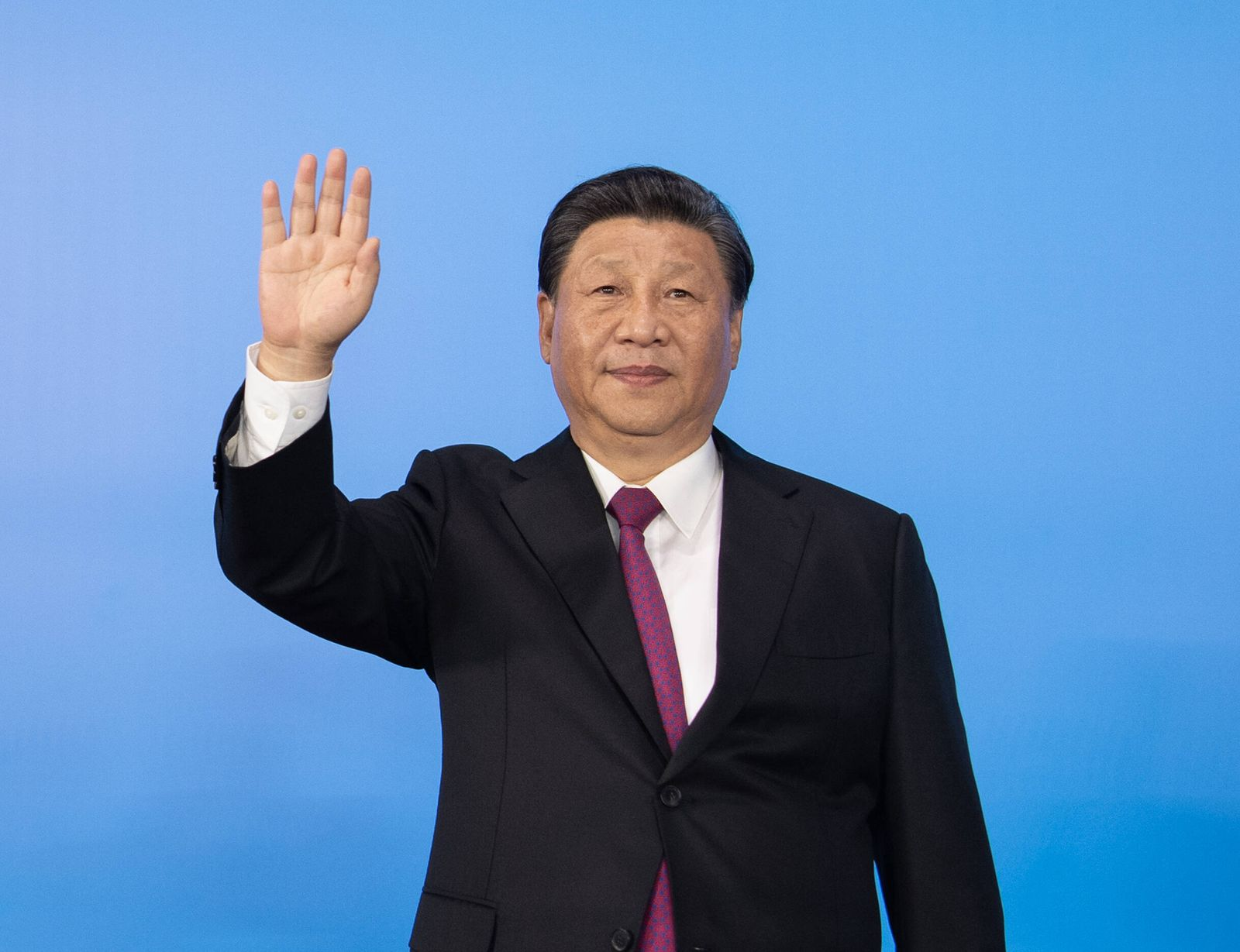 (210915) -- XI AN, Sept. 15, 2021 -- Chinese President Xi Jinping, also general secretary of the Communist Party of Chi