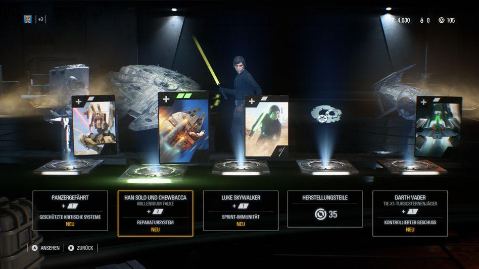 """Umstrittene Lootboxen aus """"Star Wars: Battlefront 2"""""""