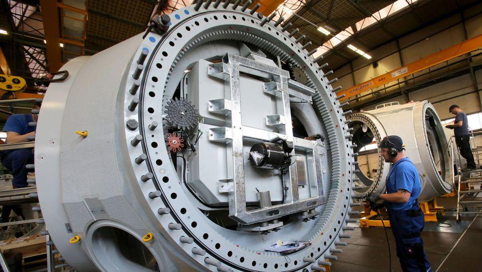 Fertigung von Rotornaben für Hochleistungsturbinen in Rostock: Hartes Jahr für die Industrie