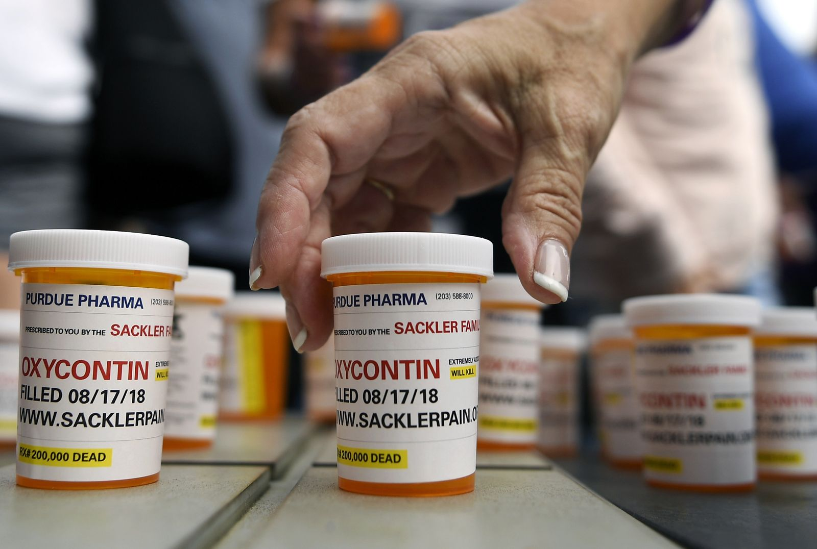OxyContin / Opioid Crisis Lawsuits