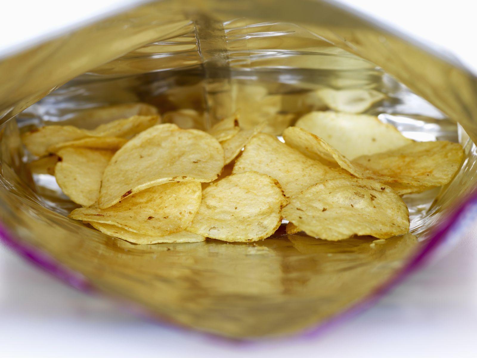 NICHT MEHR VERWENDEN! - Kartoffelchips / Chipstüte
