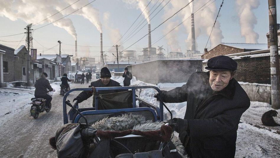 Kohlekraftwerk im nordchinesischen Datong