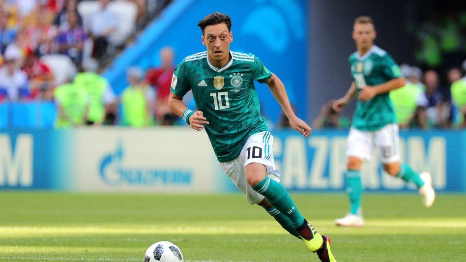 Mesut Özil bei der WM in Russland