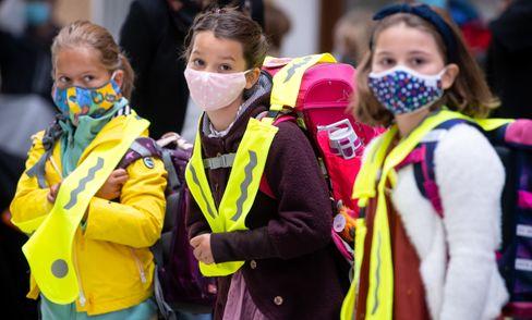 Grundschulkinder in München