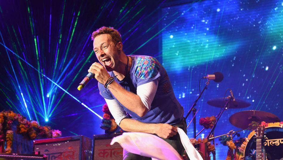 Coldplay-Sänger Chris Martin