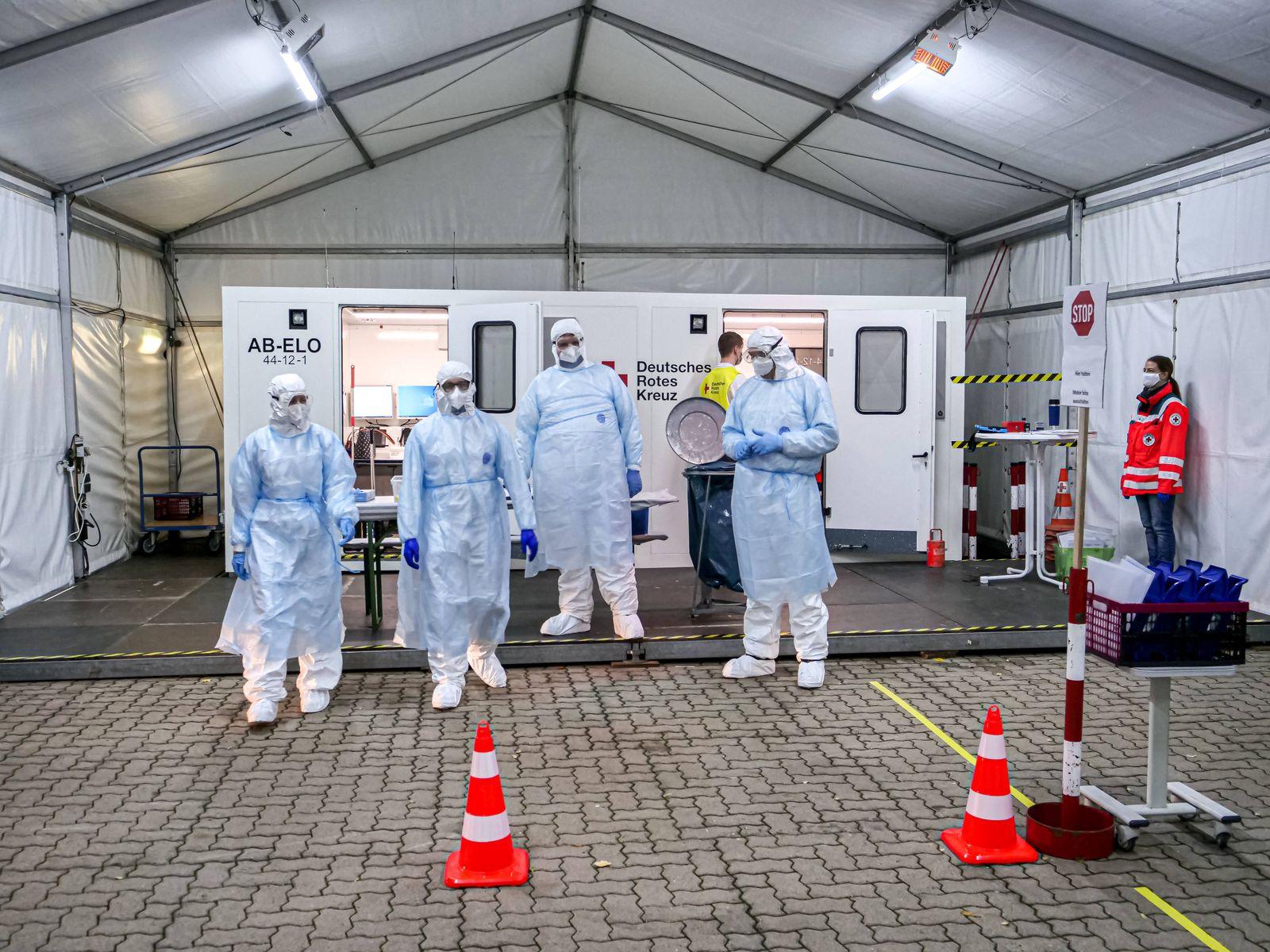 DRK Corona-Testzentrum in Hannover Das DRK-Region Hannover betreibt im Auftrag des Gesundheitsamtes in der Region Hanno