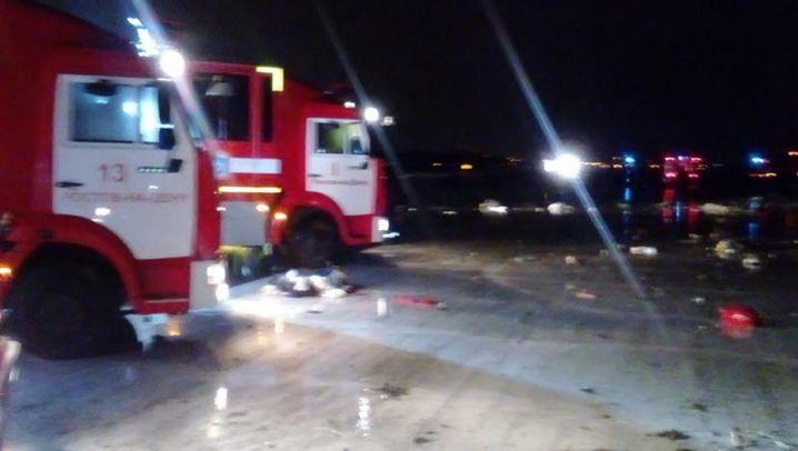 Flugzeugabsturz in Rostow: Russland unter Schock
