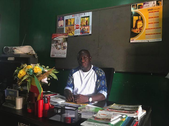Martin Opoku Sekyere: Tagsüber arbeitet er im Arbeitsamt, abends kämpft er für die Kinder im Slum.