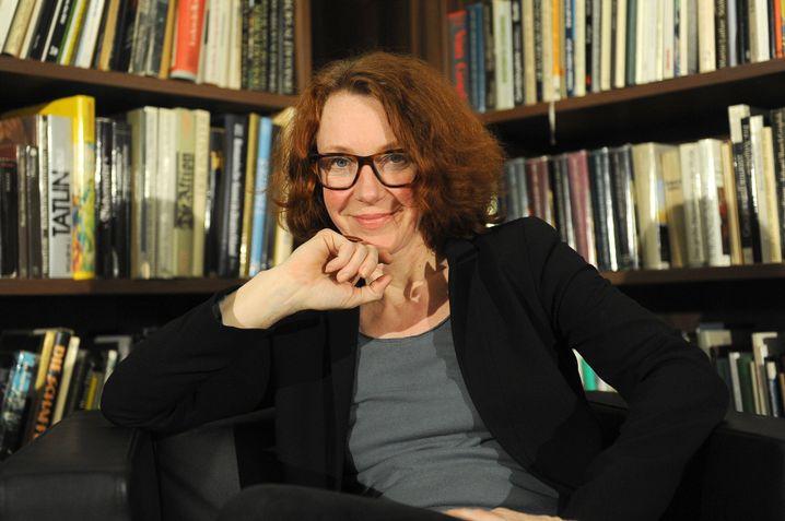 Eine Art Überraschungsstar: Politologin Ulrike Guérot