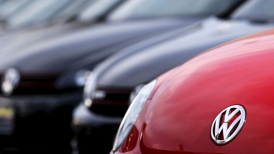 VW-Modelle bei einem US-Händler