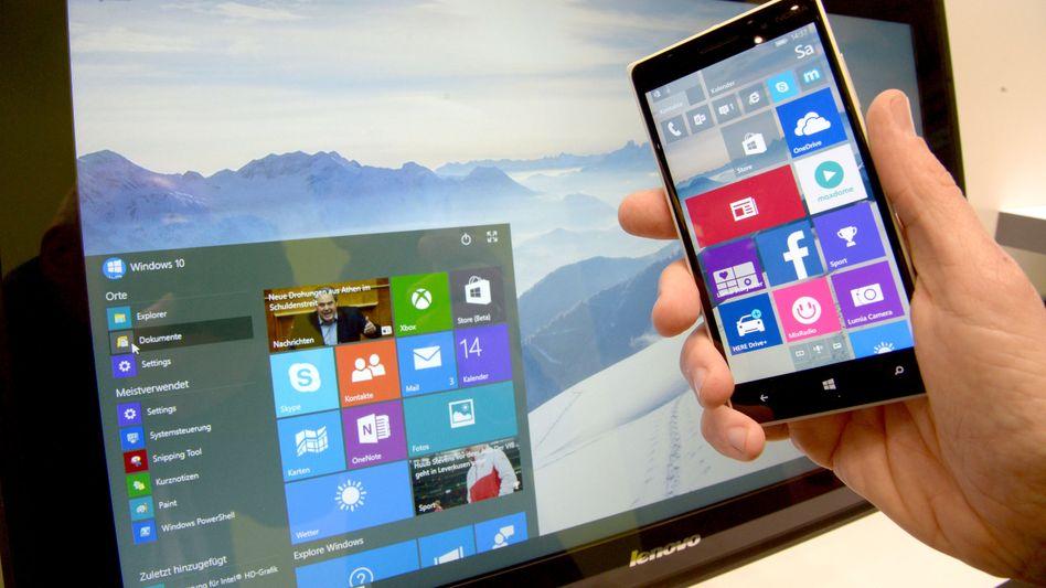 Windows 10: Einheitliche Software für Smartphones, Tablets und PC