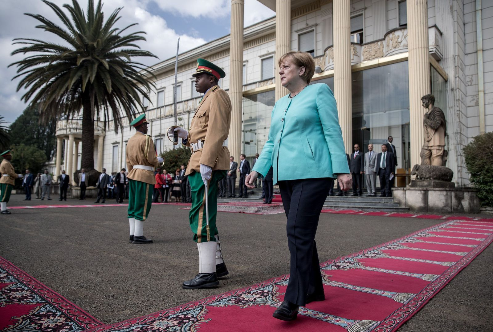 Merkel / Äthiopien