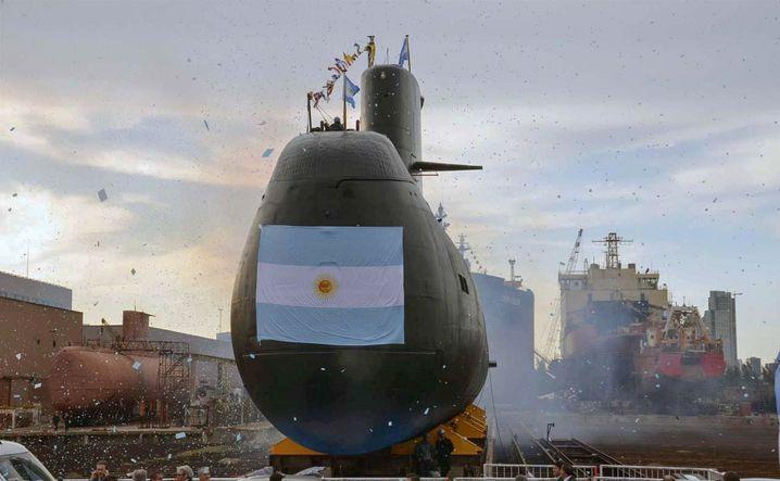 """""""ARA San Juan"""" im Dock (Archivbild)"""