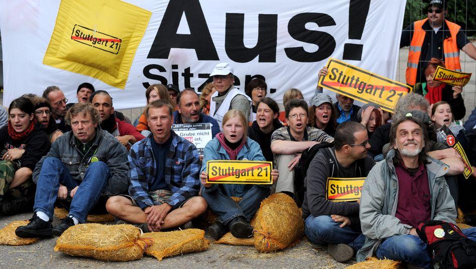 Stuttgart-21-Gegner: Neue Risiken, höhere Kosten