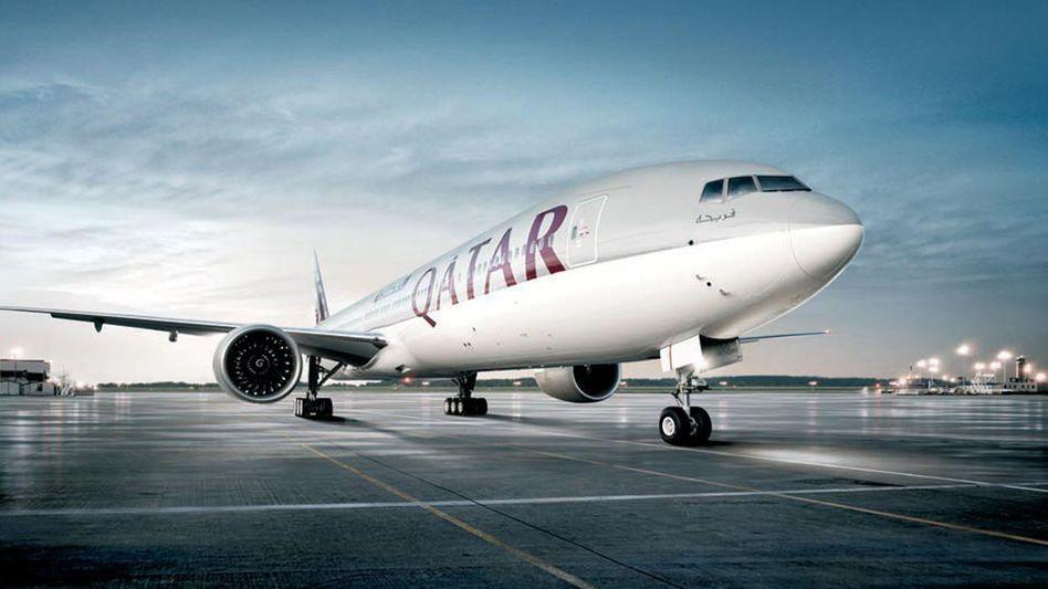 Boeing 777 von Qatar Airways (Archivbild)