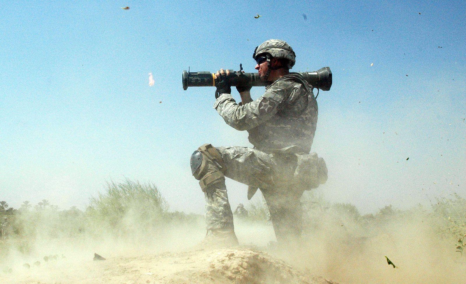 Irak / Quartalsbericht / US-Soldat XXL